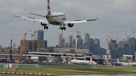 London City Airport. Picture: Ken Mears