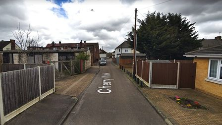 This residential street in South Hornchurch is the third worst-hit site in the whole of Havering. Pi