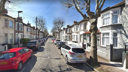 More than 30 robberies have taken place in this residential street since January 2017. Picture: Goog