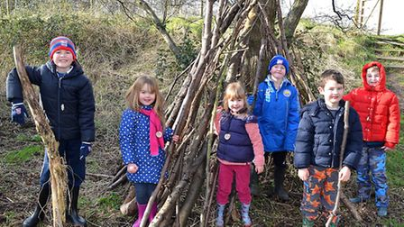 The woodland adventure event was held at Carlton & Oulton Marshes.