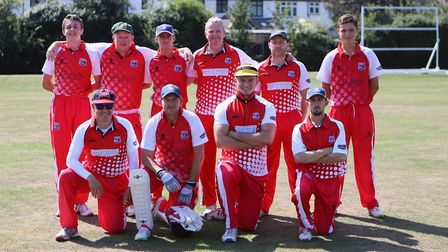 Root 66ers at this year's Windmill Whack finals day (pic Upminster CC)