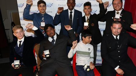 Jack Petchey Foundation achievement award winners from Rokeby School. Picture: Jack Petchey Foundati
