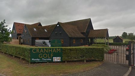 Cranham golf course could be the home of a new adventure golf course. Picture: Google Maps