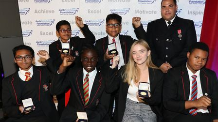 Award winners from Little Ilford School. Picture: Jack Petchey Foundation