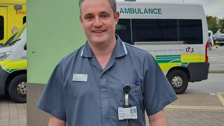 Lead nurse for emergency care and acute medicine at BHRUT Jack Stevens. Picture: BHRUT