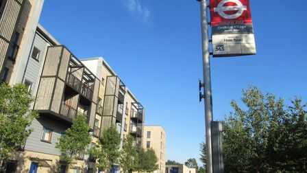 Orchard Village was intended as a flagship regeneration of the Mardyke Estate in Rainham. Picture: A