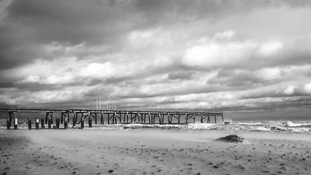 Glenn Long took this picture of the Claremont Pier in Lowestoft.