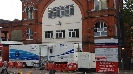 Whipps Cross University Hospital has been givern governement funding. Picture: Ken Mears