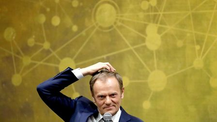 Donald Tusk has outlined his pessimism over a Brexit deal being reached Photo: PA / Niall Carson
