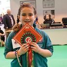 Hannah Searby won the Kennel Club' Special Pre-Beginners Obedience Stakes in the under 12 category.