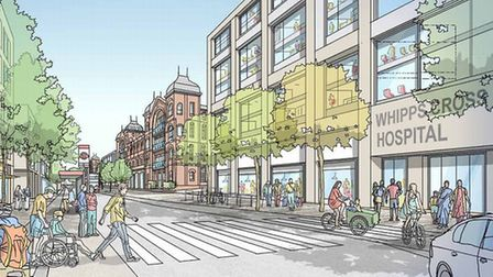 What Whipps Cross Hospital could look like. Picture: Barts Health NHS Trust