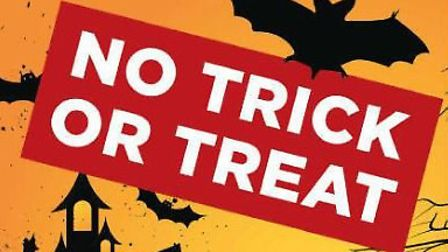 Residents who do not want trick or treaters can display this sign. Picture: Met Police