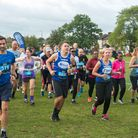 Runners setting off for the Havering Half Marathon. Picture: Mark Sepple