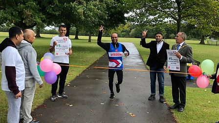 Khaled Noor, Barkingside councillor, last year set himself a personal challenge to raise money and a