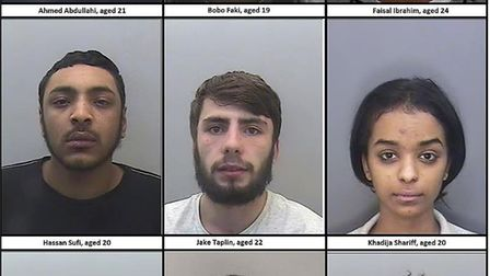A gang of county lines drug dealers who flooded Exeter with heroin and cocaine have been jailed at E
