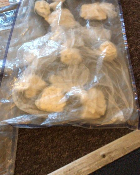 Police seized a variety of drugs following a series of dawn raids in Ilford, Dagenham and Havering.