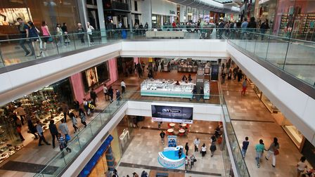 Newham's John Lewis is in Westfield Stratford City Shopping Centre. Picture: Isabel Infantes.