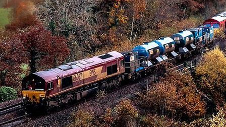 Network rail have analysed where leaves fall. Picture: Network Rail