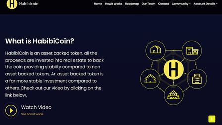 Habibi Coin, a real estate-backed cryptocurrency for Muslim investors, appears to have shut down.