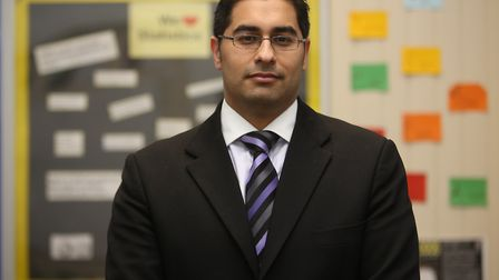 Newham Collegiate Sixth Form principal Mouhssin Ismail. Picture: Ellie Hoskins