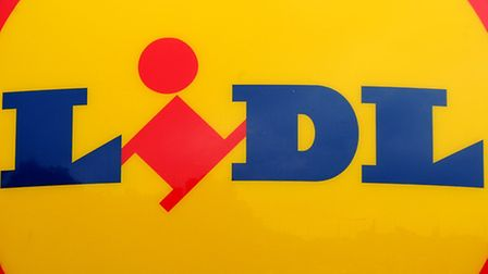 File photo dated 01/08/12 of a Lidl supermarket logo as more than 9,000 staff at supermarket chain L