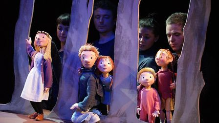 Little Angel Theatre is bringing its puppetry production We're Going on a Bear Hunt to Stratford Cir