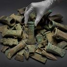 """The items date back to between 800 and 900 BC and were all discovered """"in the Rainham area"""". Picture"""