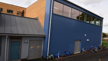 The new building at Broadford Primary School. Picture: Ken Mears