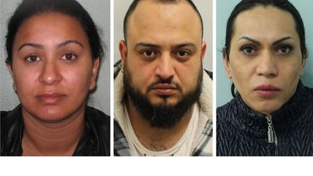 Jailed... east London brothel and trafficking gang members Eleonora Vasileva (left), Iliya Mihaylov