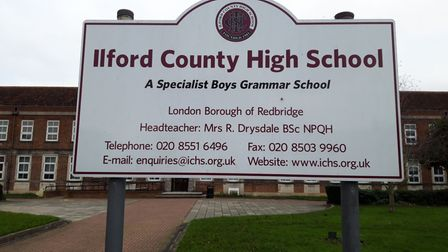 Ilford County High School. Picture: Ken Mears