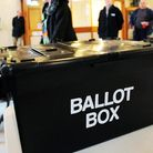 A ballot box during a UK election. Photograph: Rui Viera/PA