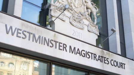 Det Con Kevin Rowley appeared at Westminster Magistrates Court on Monday, November 11 charged with