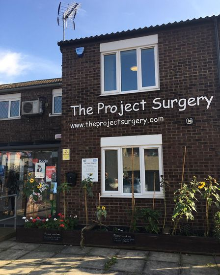 The Project Surgery in Lettsom Walk, Plaistow, opened in 2003. Picture: Jon King