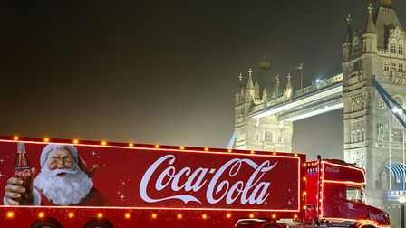 The Coca-Cola truck will be visiting Sainsbury's in Beckton as part of its nationwide Christmas tour