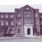 St Faith's Hospital just before demolition.