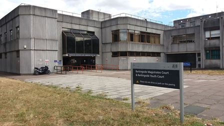 Barkingside Magistrate's Court. Picture: Ken Mears