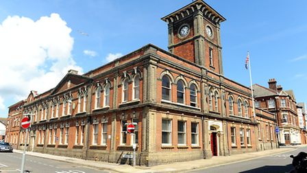 Lowestoft Town Hall on the High Street.Picture: James Bass