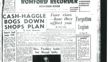 In the news 60 years ago...