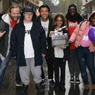 Children from Elhap made a film to show what they do at the playground. Picture: Dan Rouse