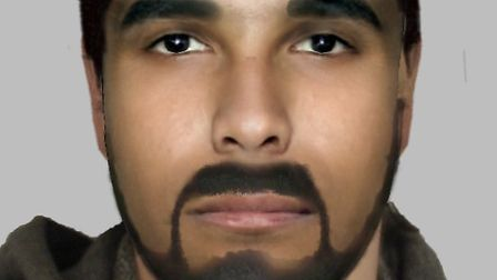 Police have released this e-fit image of one of suspects in a robbery at a Manor Park home last year