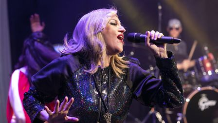 Into The Groove will celebrate Madonna's 35 year career at Queen's Theatre, Hornchurch. Picture: Ent