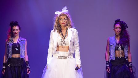 Into The Groove will recreate highlights from Madonna's live tours at the Queen's Theatre. Picture: