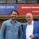 Michael Lee Taylor and his son James run Brentwood Live together. Picture: Brentwood Live
