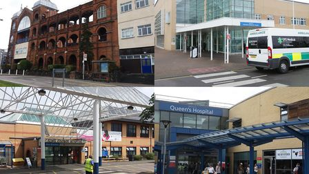 Whipps Cross Hospital, Newham Hospital, King George Hospital and Queen's Hospital are all set to ben