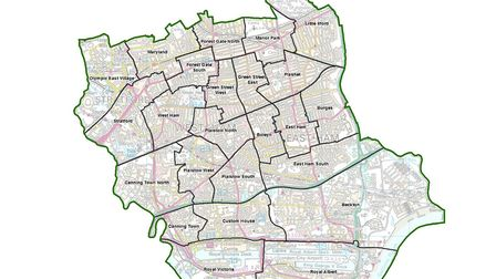 An image showing the Boundary Commission's draft recommendations. Picture: Crown Copyright