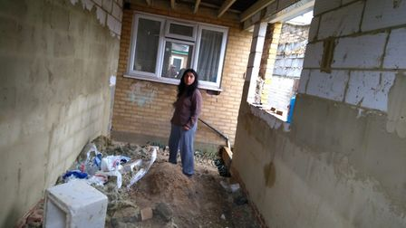 The would-be extension and utility room no longer has planning permission. Picture: Shabana Khanam