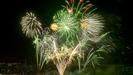 Newham called off its fireworks night on November 2 because of the bad weather. Picture: Andrew Bake