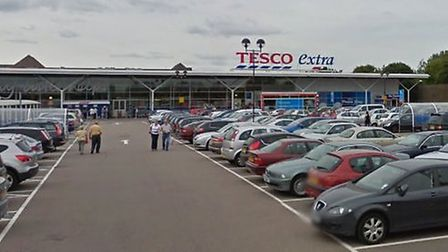 Tesco Gallows Corner Picture: Google streetview