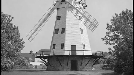 The Grade II listed Upminster Windmill as it stood in May 1989. Picture: Historic England