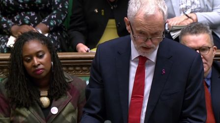 Labour party leader Jeremy Corbyn triumphed at PMQs Photo: PA